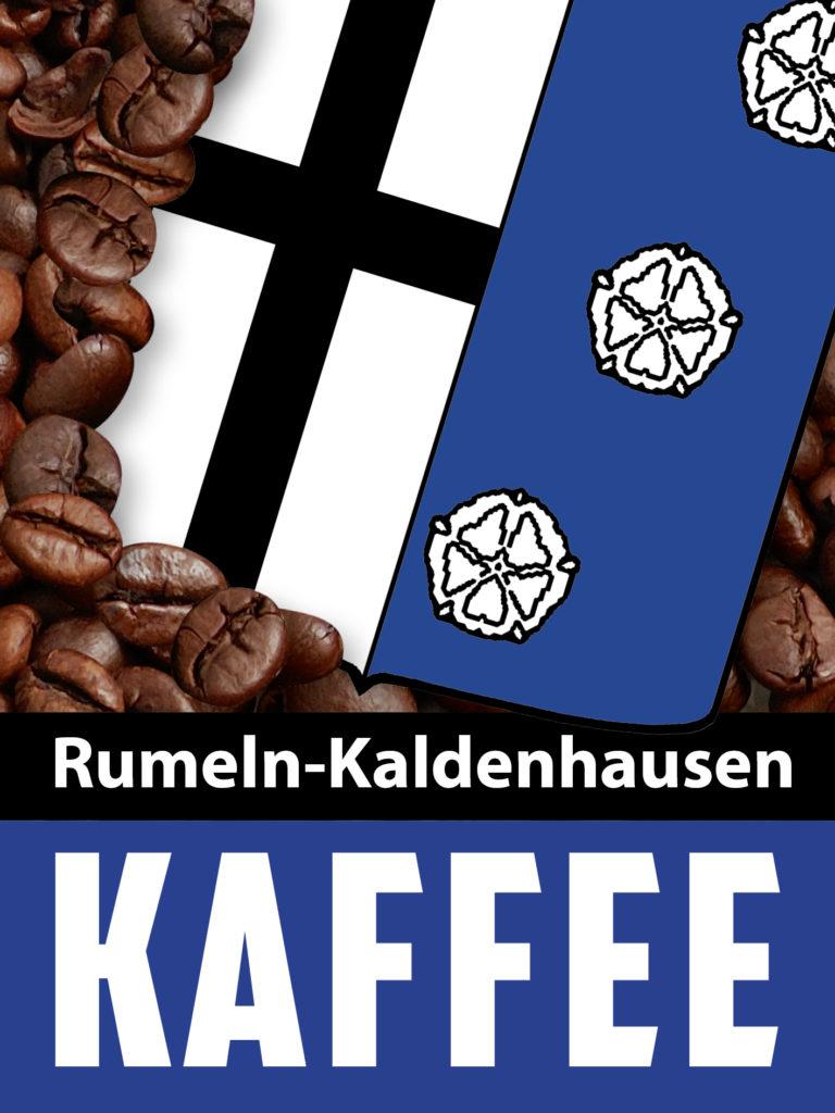 Das Etikett des Rumeln-Kaldenhausen-Kaffees